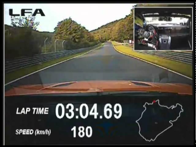 Lexus LFA 7minute 14.64 Nurburgring Lap 2011 Commercial -Carjam Car Radio Show