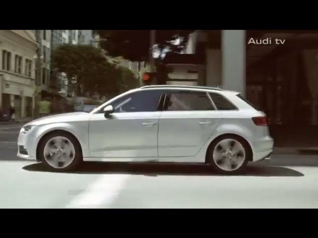 New <em>Audi</em> A3 Sportback 2013 Commercial Facebook Carjam TV HD Car TV Show