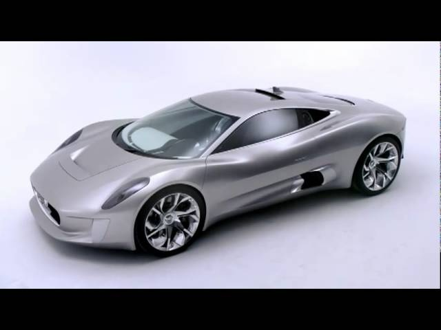 <em>Jaguar</em> C-X75 Stunning In Detail Video CARJAM TV