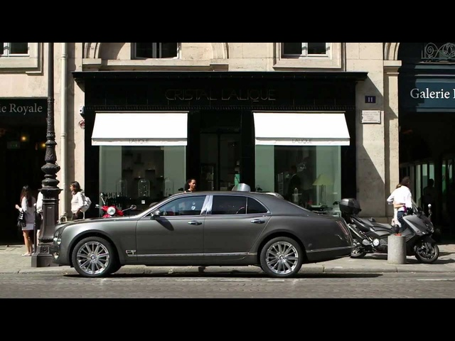 <em>Bentley</em> Mulsanne 2013 Jean Michel Jarre Commercial Lalique Carjam TV Car Show HD