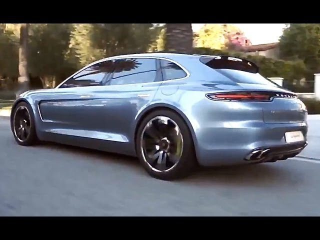 Porsche Panamera Estate Shooting Brake HD Porsche Sport Turismo Commercial 2014 Carjam TV
