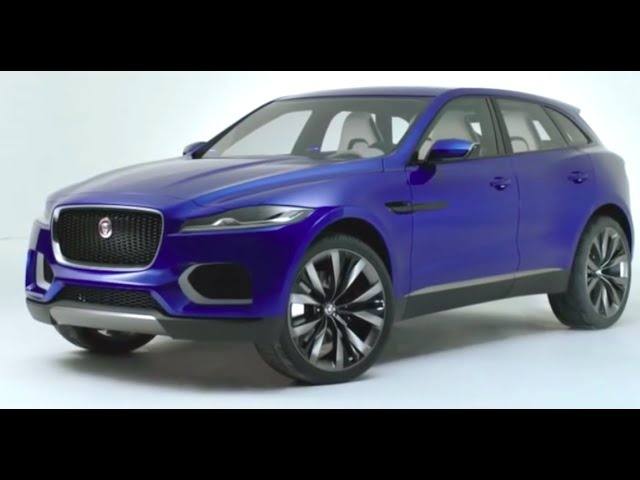 New Jaguar SUV 2016 F Pace Future Design Architecture Commercial Concept  Carjam TV HD Car