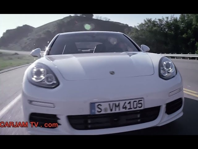 Porsche Panamera S e-Hybrid HD In Detail New Model First Commercial 2014 Carjam TV HD Car TV Show