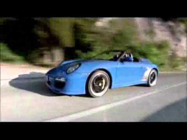 Porsche 911 Speedster Car Commercial -New Carjam Radio 2011