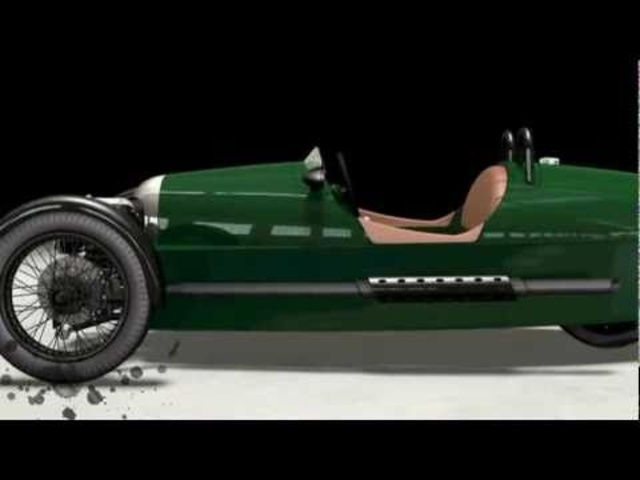 Carjam: New Morgan 3 Wheeler 2011 Official Promo Geneva