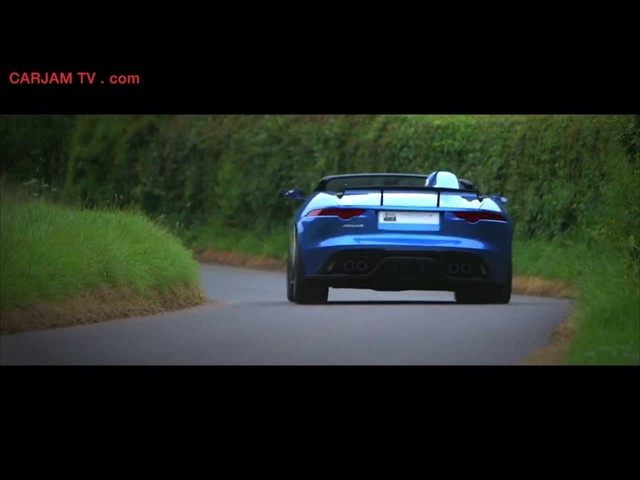 <em>Jaguar</em> F Type Project 7 Design Ian Callum Interview + In Detail Commercial Carjam TV HD 2014