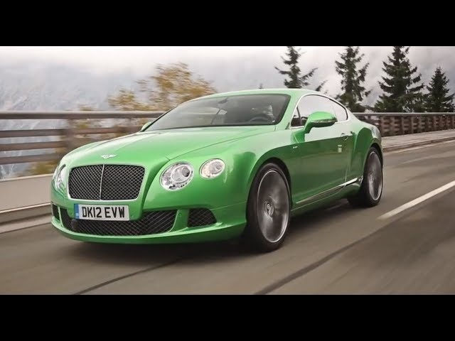 2014 <em>Bentley</em> Continental GT Speed Apple Green Engine Sound Interior Detail Carjam TV HD 2014