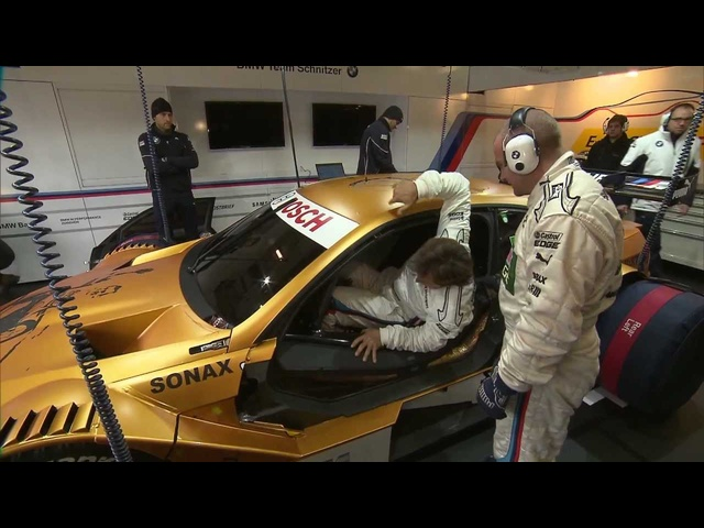 Gold <em>BMW</em> M3 2013 Nurburgring Green Hell Alex Zanardi DTM Test Commercial Carjam TV HD Car TV Show
