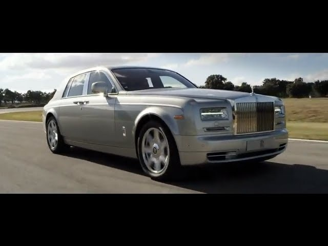 New Rolls Royce Phantom 2 Series II 2013 HD Commercial Carjam TV HD Car TV Show 2013