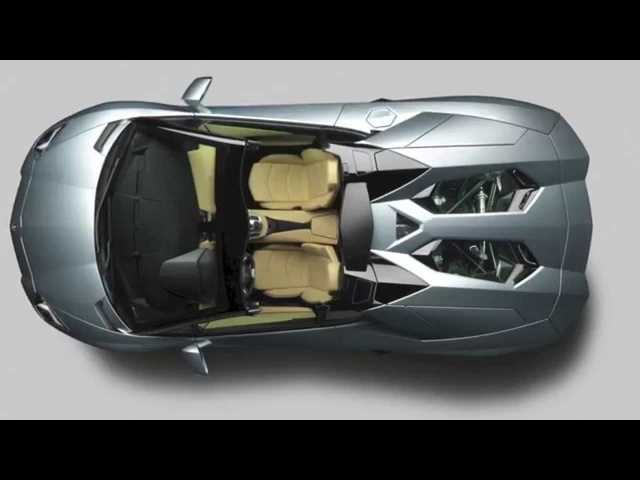 <em>Lamborghini</em> Aventador Roadster HD IN Detail + INTERIOR Car Commercial Carjam TV