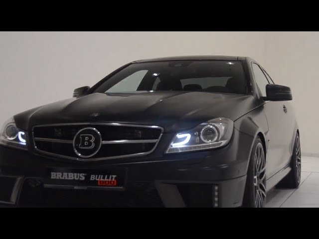 2013 Brabus <em>Mercedes</em> C Class 6.3 litre twin turbo V12 Bullit Coupé 800 Commercial Carjam TV HD