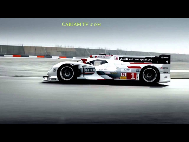 2013 <em>Audi</em> R18 HD Le Mans Winner Cool Commercial German Carjam TV HD Car TV Show