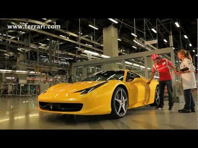 Fernando Alonso Tests New Ferrari 458 Spider Engine Exhaust Acceleration Sound Carjam 2011