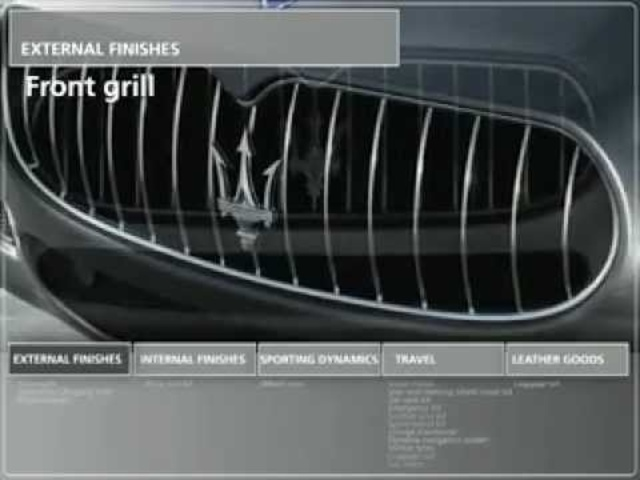 Maserati Quattroporte Accessories Commercial - 2011 New Carjam Radio