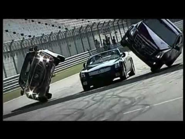 <em>Cadillac</em> CTSV Cool Stunt Team Commercial Shanghai China Carjam TV HD Car TV Show 2013