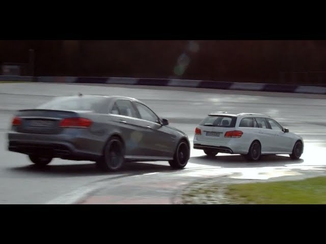 2013 <em>Mercedes</em> E 63 AMG S-Model 4MATIC Driving Commercial Carjam TV Car TV Show 2013