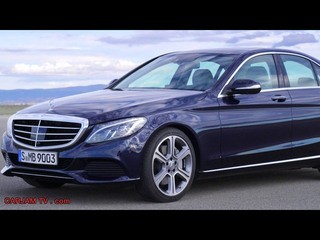 <em>Mercedes</em> C Class Hybrid 2014 C300 In Detail Interior New W205 Bluetec Commercial HD Carjam TV HD