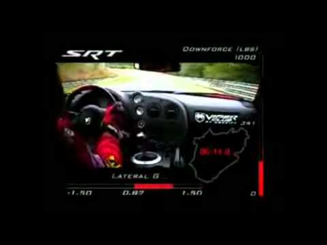 <em>Dodge</em> Viper Nurburgring Record Lap In Full <em>Dodge</em> Viper ACR Commercial - CARJAM TV