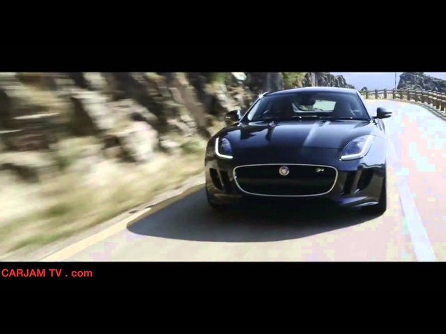 Jaguar F-Type R Coupé 550PS 5.0-litre HD 2015 Dynamics Commercial Carjam TV HD Car TV Show