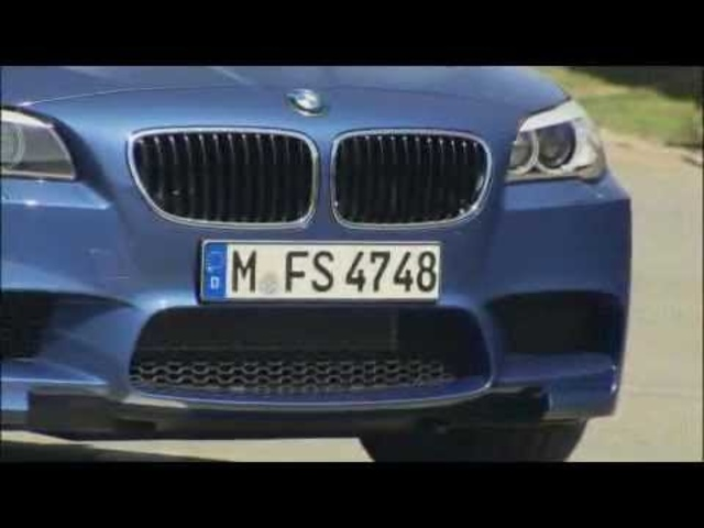 New <em>BMW</em> M5 F10 Exterior Detail Grill Wheels Commercial - 2013 Carjam TV HD Car TV Show