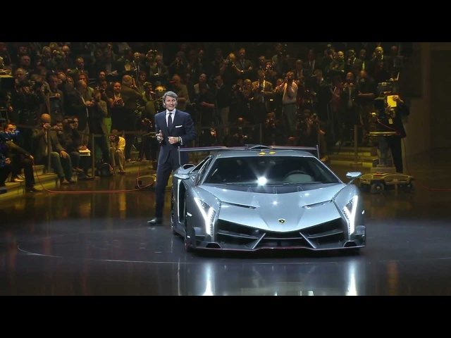 New <em>Lamborghini</em> Veneno HD First Commercial 2014 Carjam TV HD Car TV Show