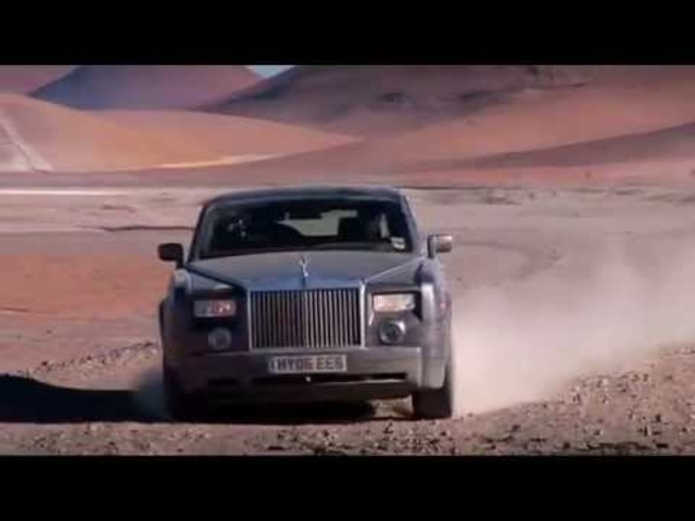 Rolls Royce Phantom Off Road High Speed Commercial Carjam TV HD 2013