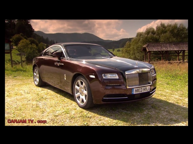 Rolls Royce Wraith HD Exterior In Detail Commercial Carjam TV HD 2015