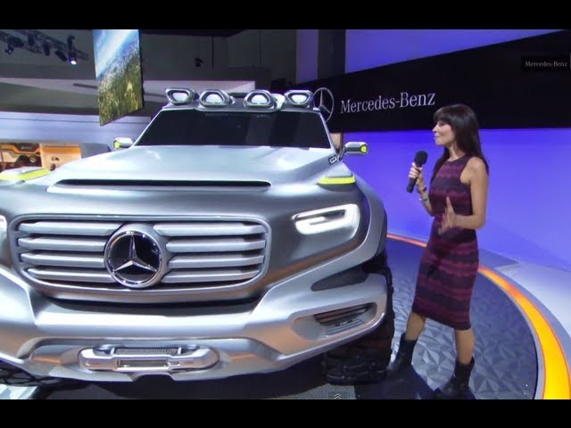 <em>Mercedes</em> 2013 G-Class G-Force Concept Commercial LA Auto Show Carjam TV HD Car TV Show