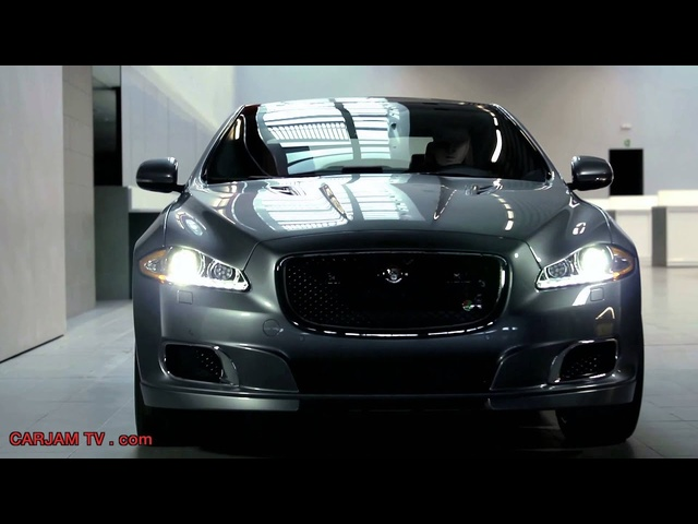 New <em>Jaguar</em> XJR 2014 HD Interior + Engine Sound Driving Commercial Carjam TV HD