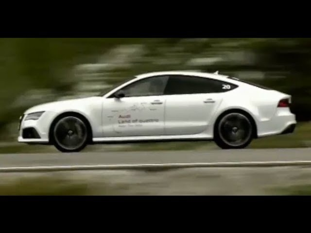 Audi RS7 HD High Speed Alpine Drive Commercial 2014 Carjam TV HD Car TV Show