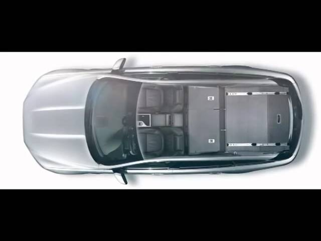 <em>Jaguar</em> XF 2013 Sportbrake Interior Detail Commercial Carjam TV HD Car TV Show