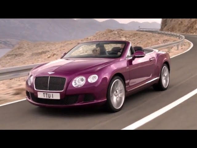 2014 <em>Bentley</em> Cabrio Continental GT Speed Convertible First Commercial Carjam TV HD 2014