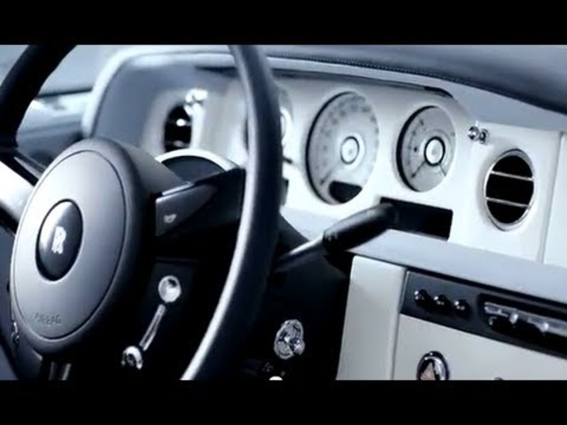 Rolls-Royce Ghost Art Deco Interior Detail Commercial Carjam TV HD Car TV Show 2015