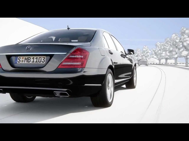 <em>Mercedes</em> S Class 2013 Active Lane Keeping Blind Spot Assist Commercial Carjam TV 2013