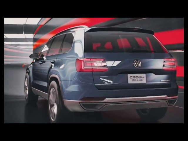 2013 VW SUV Diesel Hybrid 89 MPG 300HP CrossBlue Commercial Carjam TV HD Car TV Show