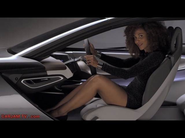 Opel Monza HD Hybrid Gullwing Sexy Commercial 2014 <em>GM</em> Concept Electric Car Carjam TV HD