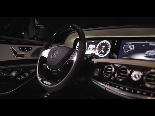 <em>Mercedes</em> S Class 2014 Interior S400 Hybrid W222 In Detail Commercial Carjam TV HD
