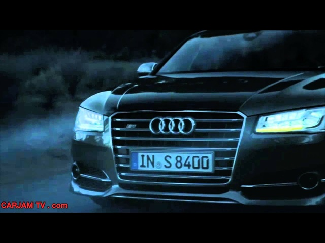 New <em>Audi</em> S8 Matrix 2014 HD Funny Sexy Commercial Carjam TV HD Car TV Show