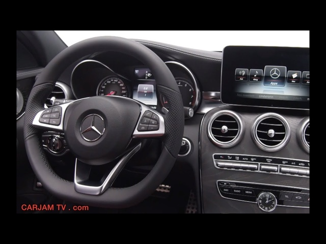 <em>Mercedes</em> C Class 2014 Interior New C250 W205 In Detail Commercial HD 2014 Carjam TV HD