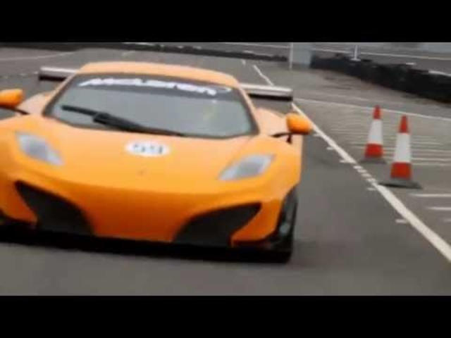 <em>McLaren</em> MP4-12C GT3 Review Testing Cool Commercial Carjam TV 2014 Car TV Show