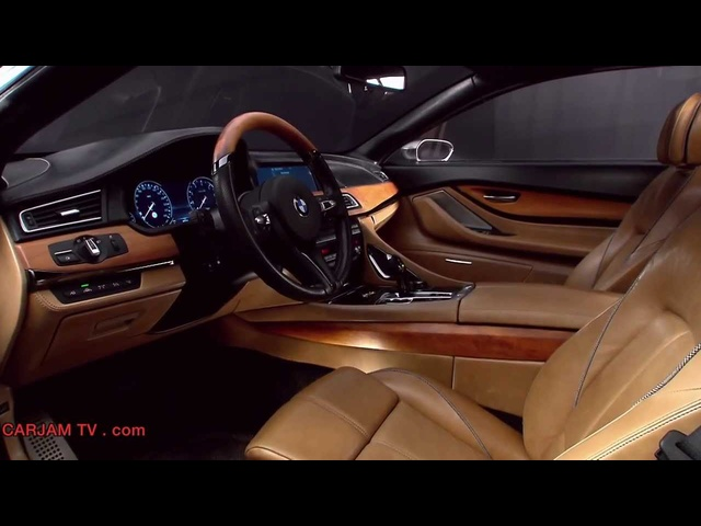 <em>BMW</em> M6 V12 Interior HD <em>BMW</em> Pininfarina Gran Lusso Coupé One Off Concept Commercial Carjam TV HD 2014
