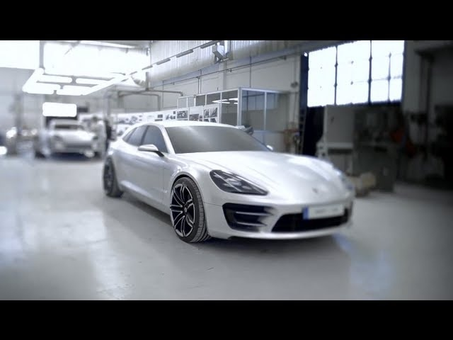 Porsche Panamera Sport Turismo Design Process 2013 Commercial 928 Carjam TV HD 2013