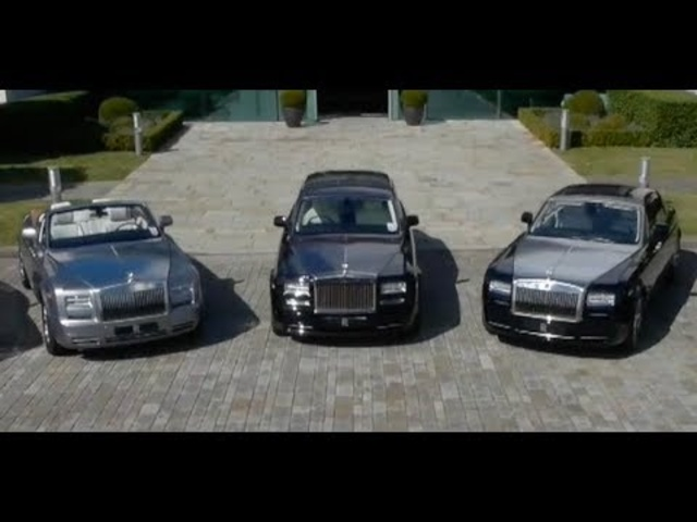 Rolls-Royce Wraith Ghost Phantom Driving Rolls Royce Factory Goodwood Commercial HD Carjam TV 2014