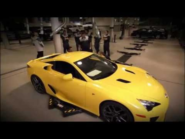 ☆ Delivering A New Lexus LFA 2011 - Carjam Car Radio Show