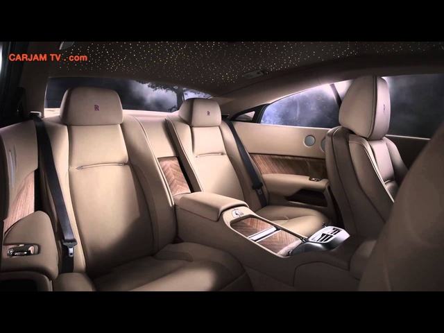 2014 Rolls Royce Wraith Interior HD In Detail Commercial Carjam TV HD Car TV Show