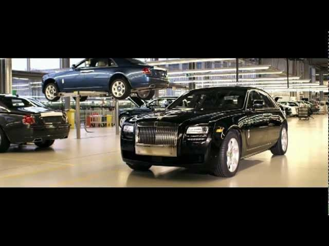 2013 Rolls Royce Ghost Made by 60 Pairs of Hands Commercial Carjam TV HD 2013 Car TV Show