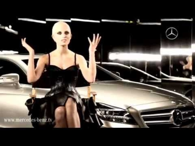 Karolina Kurkova Talks <em>Mercedes</em> CLS Sexy Commercial - Carjam Car TV Show HD 2013