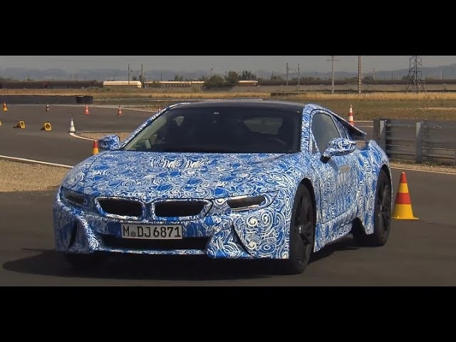 <em>BMW</em> i8 HD 2014 Driving Engine Sound In Detail <em>BMW</em> Hybrid Commercial Carjam TV HD