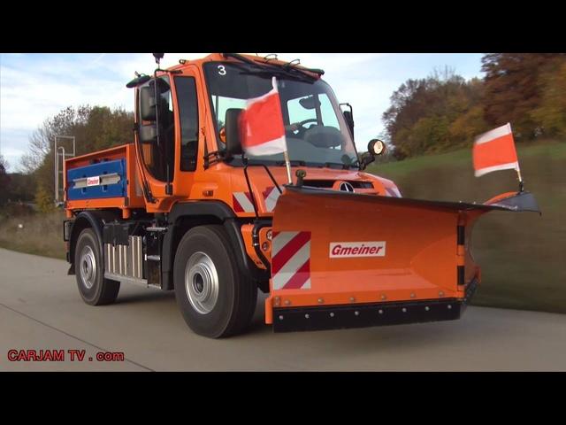 Unimog Euro 6 Schneepflug Snow Plough 2014 All New Model Review Commercial Carjam TV