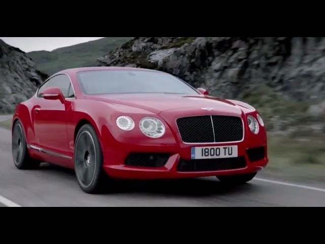 <em>Bentley</em> Continental GT V8 2013 Snow Driving Commercial Carjam TV HD Car TV Show